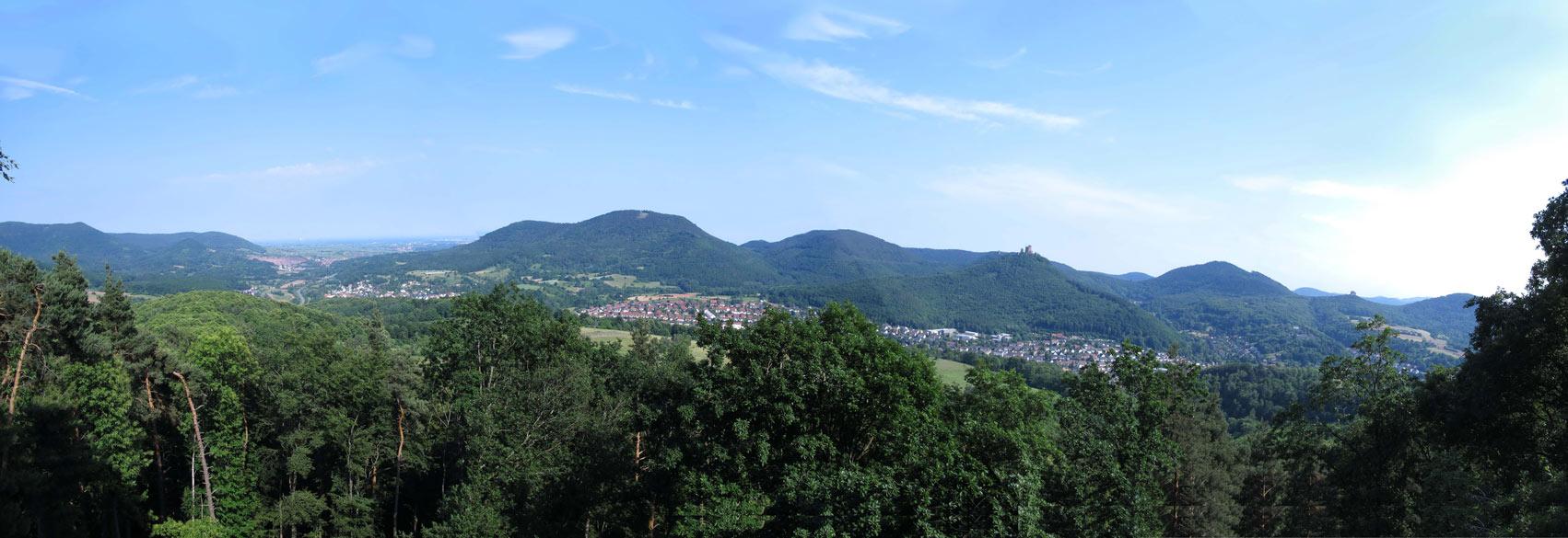 Pfälzerwaldverein Ortsgruppe Rheingönheim | Aussicht vom Krappfelsen